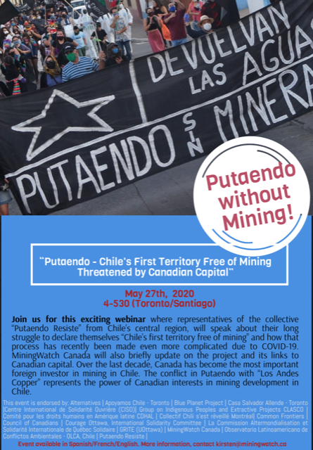 Putaendo – the First Mining-Free Territory in Chile Threatened by Canadian Investment